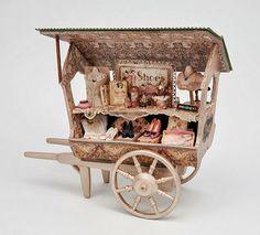 "Good Sam Showcase of Miniatures: Clothing & More: Gloria Kent ""Memories"" Vitrine Miniature, Miniature Rooms, Miniature Fairy Gardens, Miniature Furniture, Dollhouse Furniture, Victorian Dollhouse, Diy Dollhouse, Dollhouse Miniatures, Minis"