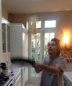 Mark Owen attempting to flip a pancake! Howard Donald, Mark Owen, Gary Barlow, Know Who You Are, Sweet Memories, Great Bands, Boy Bands, Love Her, All About Time