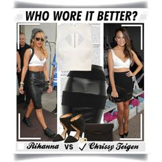 """Who Wore it Better:Celebrity Edition"" by bratatouille on Polyvore"