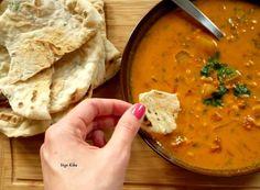 Naan & soya curry