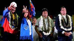 Maduro, Fernández, Morales y Correa EFE ARTICULO MUY INTERESANTE. La situación vivida por Evo Morales el martes ha desatado una grave crisis entre Europa y Latinoamérica, donde todos los países cerraron filas en torno a Morales y condenaron lo sucedido, la mayoría con dureza.