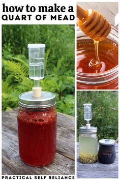 Fermented Honey, Fermented Foods, Real Food Recipes, Drink Recipes, Fall Recipes, Honey Mead, Mead Wine, Homemade Maple Syrup, Mead Recipe