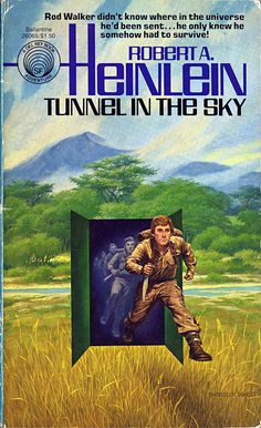 Tunnel in the Sky was one of the first Heinlein books I ever read; my dad had an old copy kicking around, and I ended up mooching and reading it some time in my middle teens. This was one of the first books that started my love of golden age sci-fi.