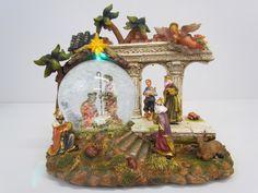 Large Navitiy Scene Snow Globe - Rudolph's Christmas Store