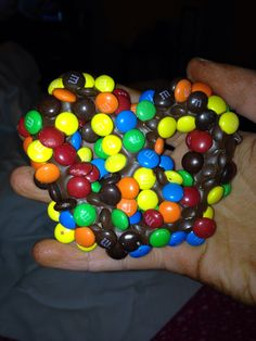 Chocolate Cover Pretzel with Milk Chocolate M&M'S!