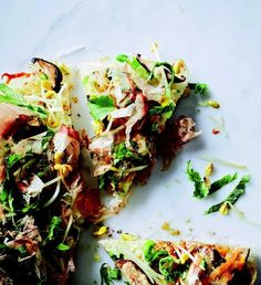 This sounds awesome! Totally going to make it, minus the bonito: Japanese Pizza  | KitchenDaily.com