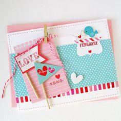 Card: February - Doodlebug