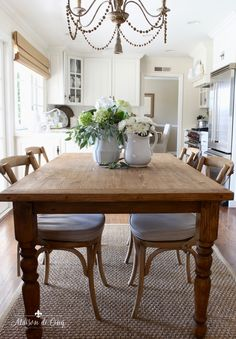 How I Chose My Breakfast Area French Cafe Chairs Farmhouse Dining Roomsantique