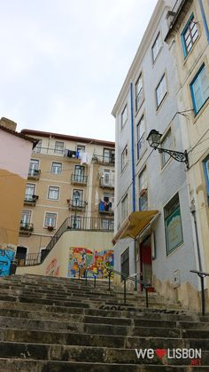 Mouraria traditional neighbourhood in Lisbon