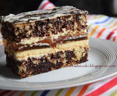 Ciasto łaciate Polish Desserts, Polish Recipes, No Bake Desserts, Just Desserts, Chef Recipes, Sweet Recipes, Food Cakes, Cupcake Cakes, Lithuanian Recipes
