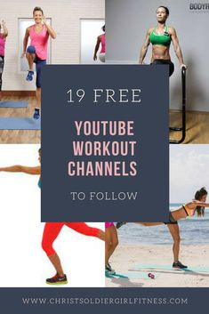 Looking for the best Free YouTube Workout channels to follow? You can workout for free from your home with little to no equipment using free workout videos. No gym, no equipment, at home workout, for beginners, fat burning, strength training, weight loss