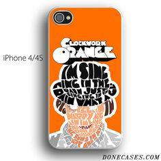 A Clockwork Orange quote case for iPhone 4[S]