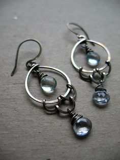 Of the Sea Earrings by green bee studio, via Flickr