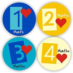 Baby Stickers - Baby Month Stickers - Colorful Baby Monthly Stickers - Baby Shower Gift Philly Art & Crafts LLC http://www.amazon.com/dp/B00SZR8TQC/ref=cm_sw_r_pi_dp_CQhavb0KXGFTC