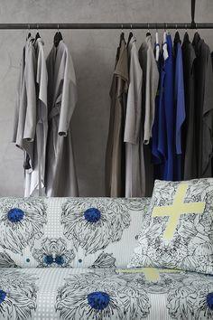 ARTEFLY Ikea Klippan cover AZAMI - interior styling / modern ornamental pattern