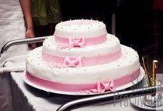 tort weselny różowy / pink wedding cake