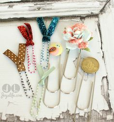 52: Episode 11: How to Create Decorative Paper Clip Bookmarks at joyslife.com