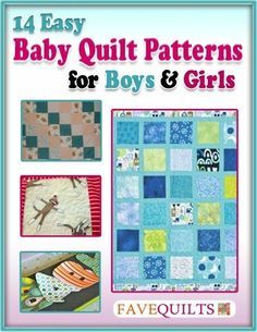 14 Easy Baby Quilt Patterns for Boys and Girls