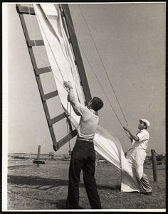 Commonwealth, Nantucket, Windmill, Ethereal, 1930s, Holland, Sailing, Old Things