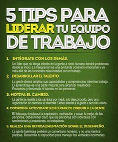 5 #TIPS # PARA #LIDERAR #TU # EQUIPO #DE #TRABAJO