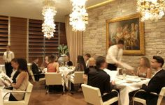 Gold Restaurant, Milano Italy    Go only if you don't mind being surrounded by beautiful people. It's an experience.