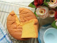 Resep Basic Vanila Sponge Cake No SP ala khey (irit simple) favorit. Lembut , wangi , healthy