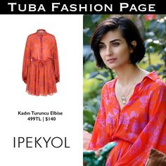 "2,344 Me gusta, 12 comentarios - TUBA FASHION PAGE (@tuba.fashion) en Instagram: ""#TubaBüyüküstün's Dress by @ipekyoltr 