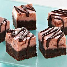Black Bottom Cherry Cheesecake Bars via gurutotheoutdoors.com