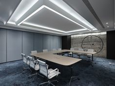 Gold and blue are picked as the visual keynote to represent the aspiration for wealth and prestige along with knowledge and trust. Wooden freestyle seatings are provided in corridor and lounge room for cozy reading, discussion and relaxation, setting an atmosphere of floating persistence of time in the office.