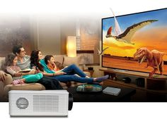 Main Features:With analog TV interface lumen with contrast ratio for clear ,sharp x HDMI input ports and 2 x USB ports: Presentatio Lcd Projector, Digital Tv, Home Entertainment, Buy Cheap, Cinema, Entertaining, Led, The Originals, Movies