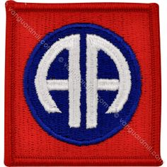Army Patch: 82nd Airborne Division - color