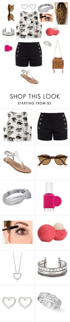 """""""Riley's Style 5"""" by simplyvanner on Polyvore featuring Chicnova Fashion, Chloé, Ray-Ban, Essie, Eos, Marc by Marc Jacobs and Marie Martens"""
