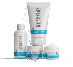 Rodan + Fields Redefine, my new skin care regimen. I love it and my skin looks & feels great! :)