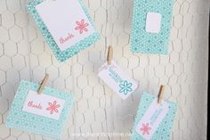 Letter Press thank you cards +discount I Heart Nap Time | I Heart Nap Time - Easy recipes, DIY crafts, Homemaking