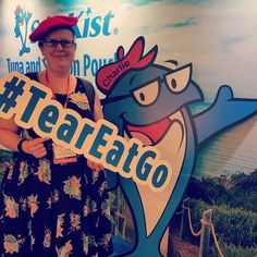 Protein made easy with @starkistcharlie and #teareatgo #blogher17