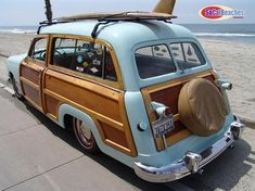 1951 Country Squire Woodie