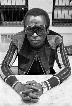 Miles Davis by Don Hunstein, 1969, New York.