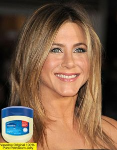 Jennifer Aniston's strict facial routine.  Gotta' try!