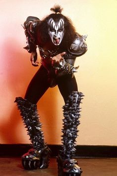 gene simmons kiss boots. portland maine january 21 1983 photographer: didi zill most people have never seen these boots · vintage kisskiss bandfamous musiciansgene simmonsclassic gene simmons kiss r
