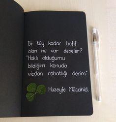 """Instagram'da Huzeyfe Mücahid Osmanoğlu: """". Birinin kalbinin kırılmasına sebep olmaktansa kendi kalbimin kırılmasını yeğlerim. Bu çok iyi bir insan olduğum için değil. Etrafa pembe…"""" Black Paper Drawing, Romantic Mood, Philosophy Quotes, Enough Is Enough, Logo Templates, Quotations, Life Quotes, Poetry, Notebook"""