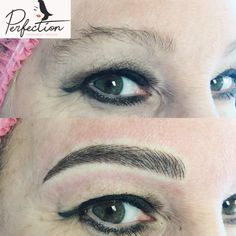 Can't make any decision better than this! She looks so much more elegant with her new brows! For appointment call us phones  443-935-8030. You also can use yelp to contact us.  For website: www.perfectionpermanentmakeup. #makeupfree #healed #healedbrows #microblading #4d #powdered #Combo #feather #lips #hdbrows