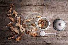 #Porcini #mushrooms dried and soaking in the water, overhead shot. #FOODPORTFOLIO #FOODPHOTOGRAPHY #FOODPHOTOGRAPHER #FOOD