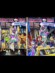 Monster high boo York movie