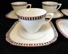 GERMAN ART NOUVEAU Meissen Porcelain COFFEE CUP, CROCUS patt. by ...