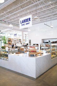 prepared foods for sale at the larder inside healdsburg shed / sfgirlbybay