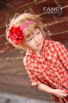 Pouting Princess Fabric Flower Tutorial