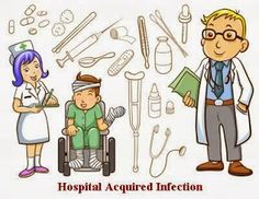 Hospital-Acquired-Infection Hospital acquired infection is that infection which a patient get in the hospital when he is admitted for the treatment of any other illness. This post will give you all the information about what is hospital-acquired infection and how to avoid it.  Note : The post is written in Hindi. You can read it in English by using the translate option available on the right sidebar.