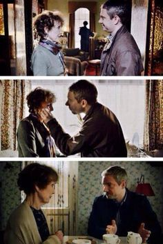John and Mrs Hudson. Everyone's fill in Mom. Mum. Whatever.