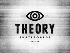 Theory Skateboards Identity by Andrew Fairclough, via Behance