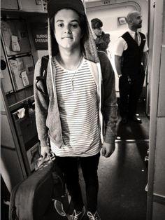 Arriving in America 2014-The Vamps (Brad)